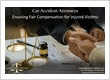 Experienced car accident injury attorney