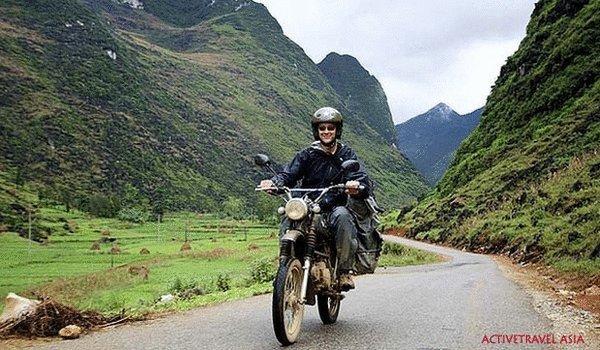 Riding Vietnam's mountainous north