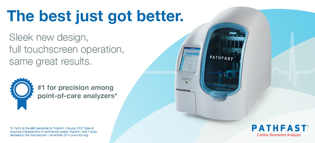 Pathfast Cardiac Biomarker Analyzer