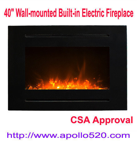 Offer Wall Insert Electric Fireplace with remote control