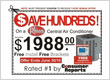 Central A/C Summer Sale