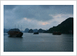 The stunning Halong Bay