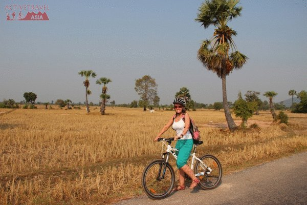 Bike Riding Through the Cambodian Countryside