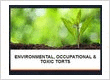 Environmental Torts Attorney