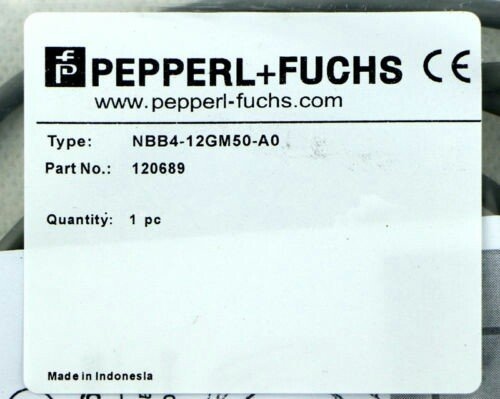 Pepperl+Fuchs NBB4-12GM50-A0