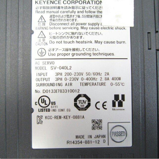 KEYENCE SV-040L2