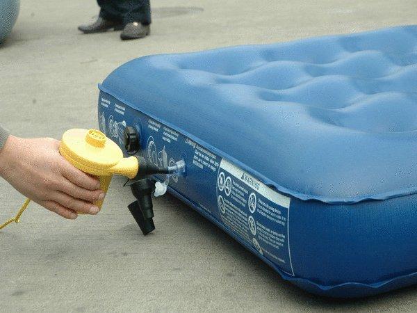How To Deflate Air Mattress Using Electric Air Pump