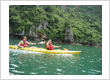 Discovering Halong Bay by Kayaking