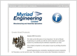 +40% Open rate newsletter for Myriad Engineering
