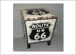 Route 66 Ottoman Storage Trunk http://www.hotdesign.co.nz