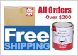 Free Shipping All Bathtub Refinishing Product Orders Over $200