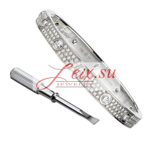 2017 New Real 18k gold Replica Cartier Love Bracelet Launched on LEIX.SU