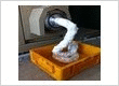 Styrofoam melting machine