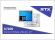 STX Technology presents the updated X7200 Industrial Touch Panel PC Range
