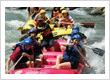 Enjoy fun rafting in the Elo river near Borobudur