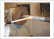 HVOF Coating On Shaft with Tungsten Carbide
