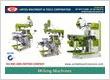 Milling Machines Manufacturers Exporters in India Punjab Ludhiana