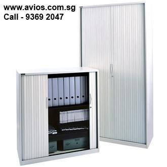 Avios Tambour Door Cupboards for sale