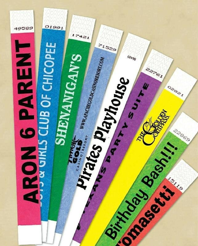 Wristbands and Lanyards for Event Promotion