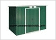 Pent Roof Metal Sheds 4 x 8 ft Easy Assembly Metal...