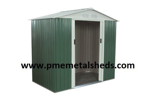 New Garden Sheds Apex Metal Sheds 6 x 8 ft pmemetalsheds for Sale