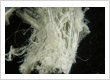 White Crysotile Asbestos Fibers Raw