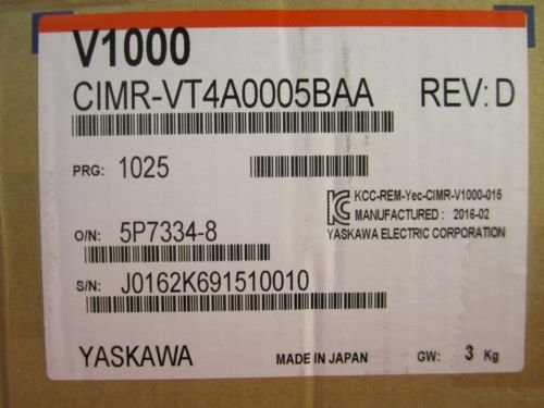 YASKAWA CIMR-VT4A0005BAA