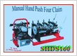 MANUAL BUTT FUSION WELDING MACHINE SHDS160 4Claim HandPush