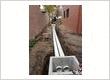 Excavator performing some civil works