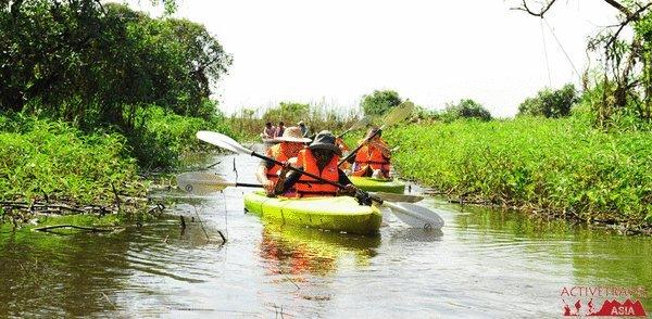 Kayaking Travel Great Tonle Sap Lake – Unforgotten experience in Cambodia