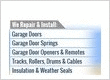 garage door repair new garage doors garage door service