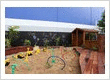 Petit child care centres Marian - Large outdoor Play Yard for exploration and play
