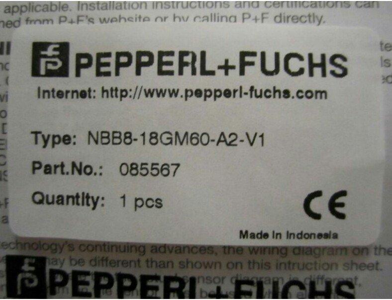 PEPPERL+FUCHS NBB8-18GM60-A2-V1