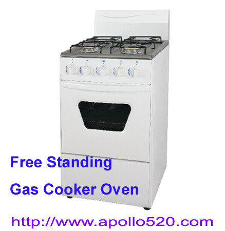 Offer 4 Burners Free Standing Gas Stove with Oven