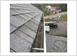 Gutter cleaning and gutter repair.