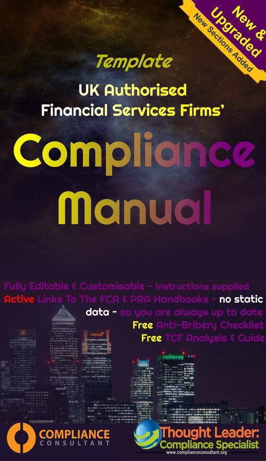 Template UK Regulatory Compliance Manual