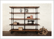 Industrial chic and industrial styled furniture