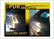 large Dent in a car door Removed by PDR