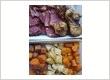 Kapmauri meat & vegies.