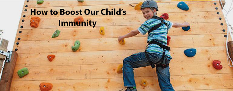 How To Boost Our Child's Immunity