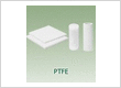 Engineering plastic PTFE Telfon virgin white sheet sheeting rod bar