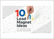 10 Lead Magnet Ideas to Grow Your Sales Pipeline