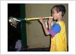 Anak Panti Asuhan Desa Putera Menyambut Tahun baru 2012