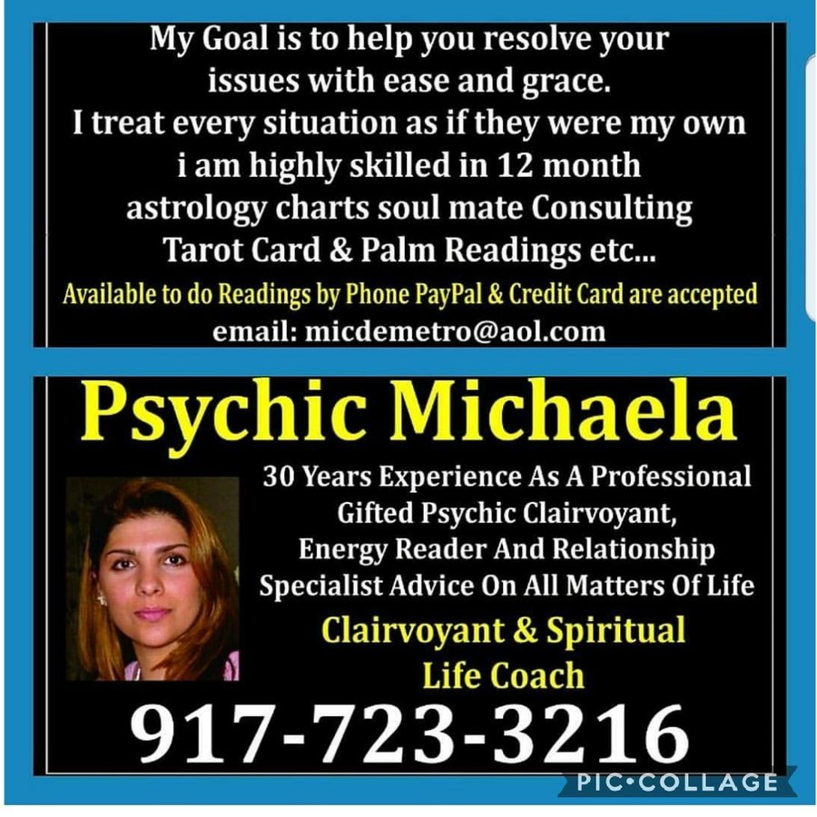 Psychic Readings by Michaela - Ozone Park, United States