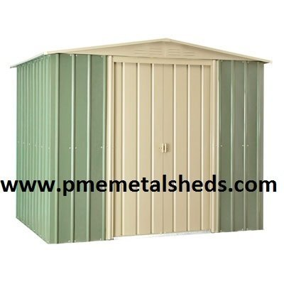 Metal Sheds Movable DIY Garden Metal Storage Steel Sheds pmemetalsheds