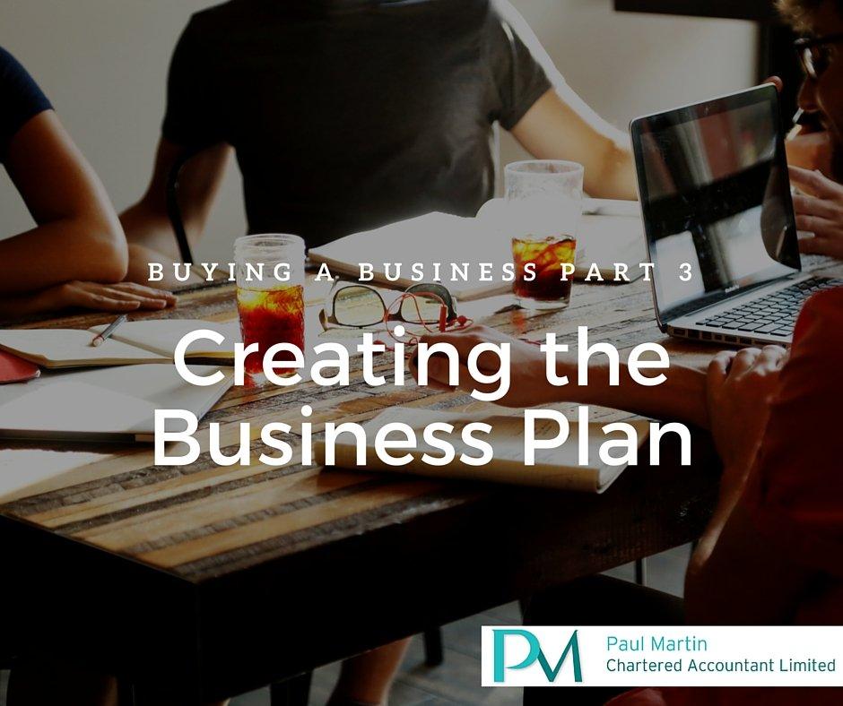 Business plan buying established business