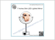 7 Inches Slim LED Lighted Mirror
