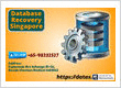 Database Recovery Service at DataX Data Recovery Singapore