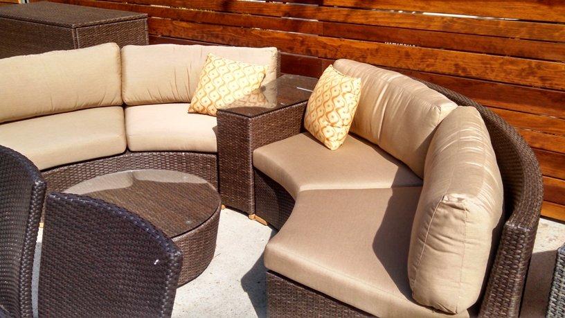 ... Patio Productions Outdoor Sofa ...