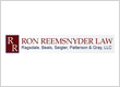Ron Reemsnyder Law